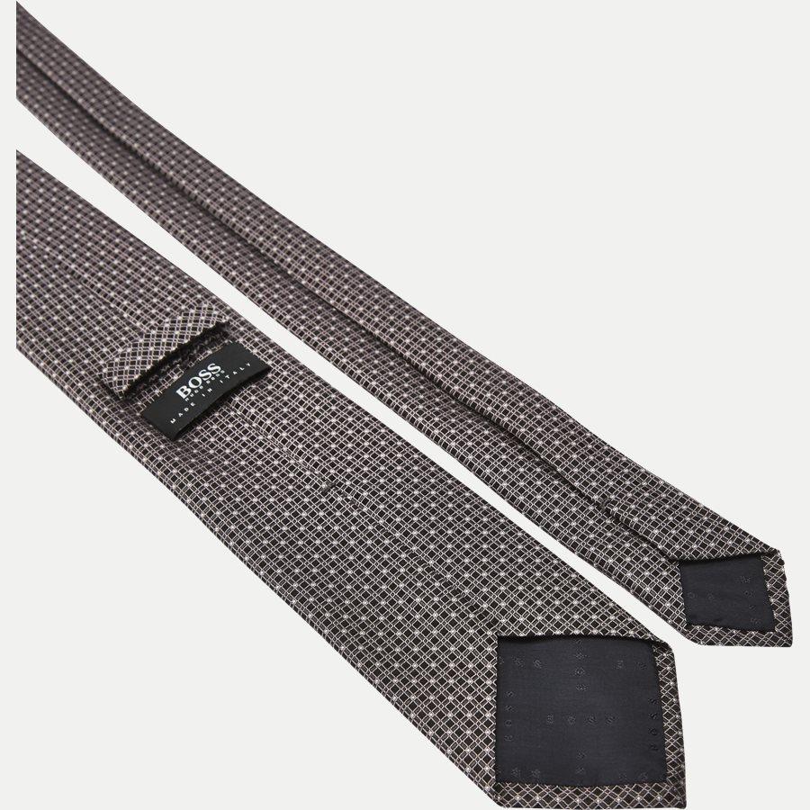 50330175 - Krawatten - LYS RØD - 3